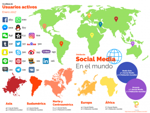 [TPP eMarketing] Social Media mundo 2017 - Infografía